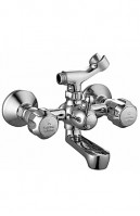 Wall Mixer Telephonic With Crutch (Classic Handle)
