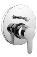 Single Lever Concealed Divertor With High Flow System